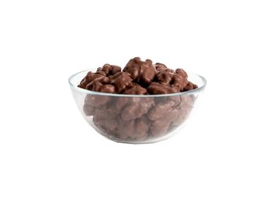 Chocolate glazed walnut kernels